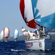 RODOP v čele závodní flotili, je to krásný pohled za sebe...
