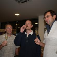 Welcome drink na After Party Stavební Regatty 2008