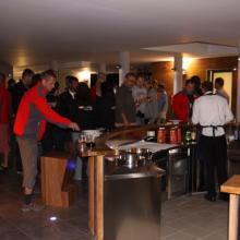 Welcome drink na terase hotelu IN.