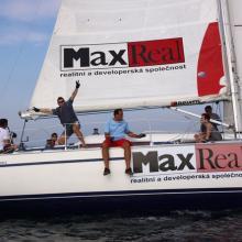 Max Real chvíli po startu tréninkové rozjížďky.