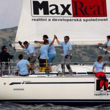 Max Real vítězí ve druhé navigační rozjížďce Stavební regatty 2010.