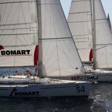 Bomart a SkiMu těsně po startu.