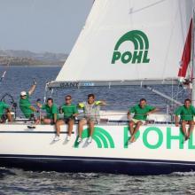 Radost v cíli posádky POHL.