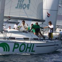 Posádka POHL na startu páté rozjížďky.