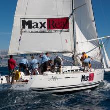 Posádka MaxReal v plném nasazení.