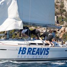 Rychlý přesun teamu HB Reavis při obratu.