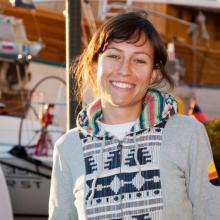 Skvělá jachtařka a členka teamu SkiMU.