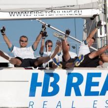 Na palubě HB Reavis panovala vždy dobrá nálada.