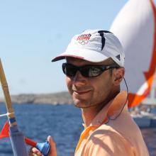 Tomáš Musil - ředitel závodu a hlavní rozhodčí v jedné osobě.