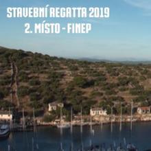 Stavební regatta 2019 - 2. místo: FINEP